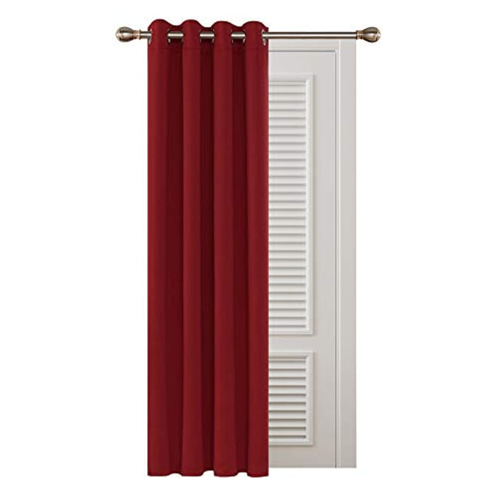 Deconovo Super Soft Thermal Insulated Blackout Eyelet Curtain - Only £5.99!