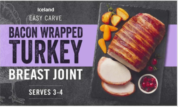 1/2 Price - Bacon Wrapped Turkey Breast Joint - £1.75 Put Away for Christmas