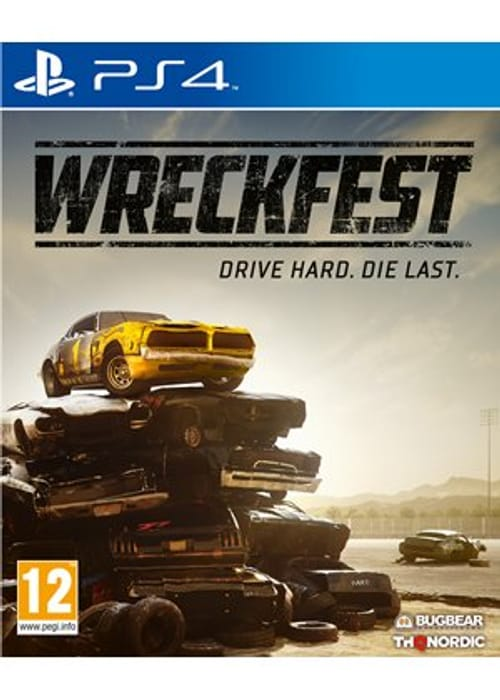 Cheap PS4 / Xbox One Wreckfest - Only £14.39!