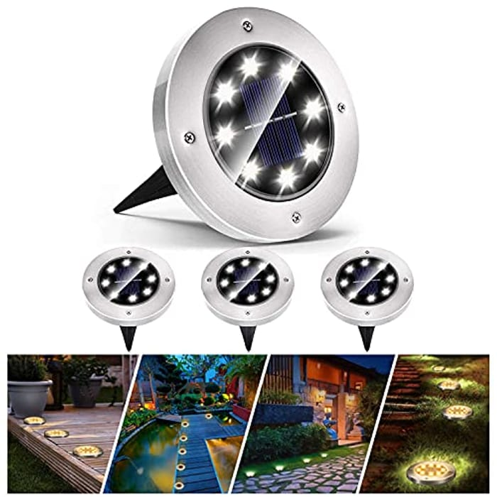 40% off Solar Pathway Lights (4-pack)