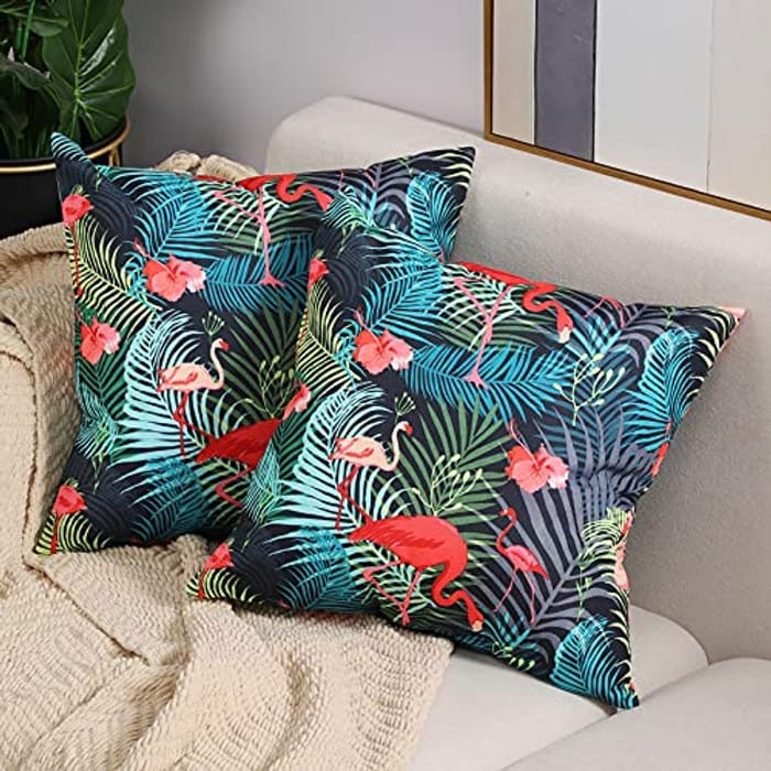 DEAL STACK - Btyrle Waterproof Cushion Covers with Digital Printing + 12% Coupon