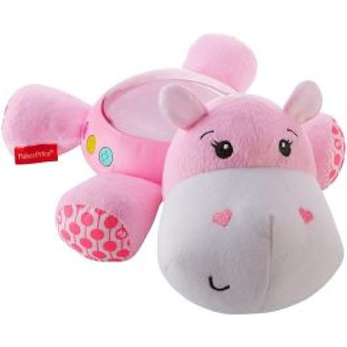 Fisher Price Pink Hippo Soother Age: 0 Months+