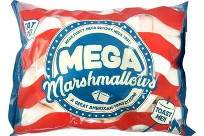 Mega Marshmallows 550g (£3 in Iceland)