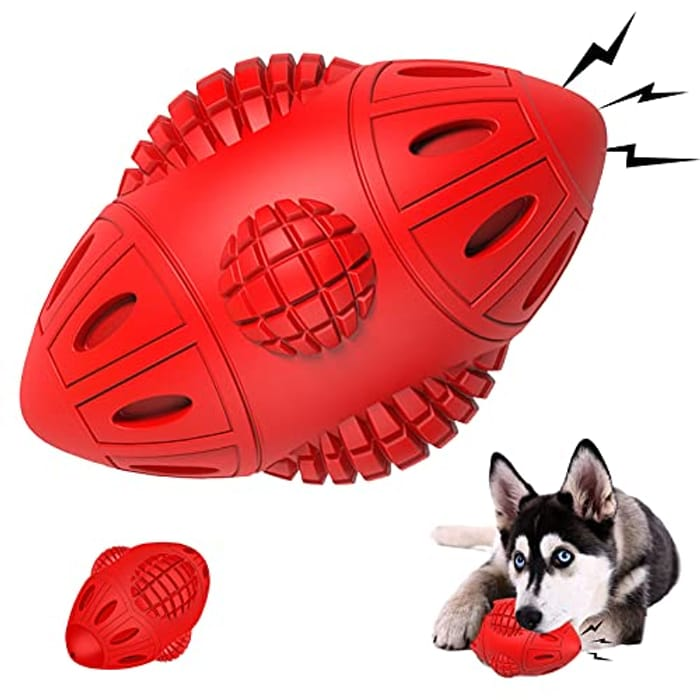 DEAL STACK - Cauwaas Squeaky Indestructible Dog Chew Toys Gifts + 15% Coupon