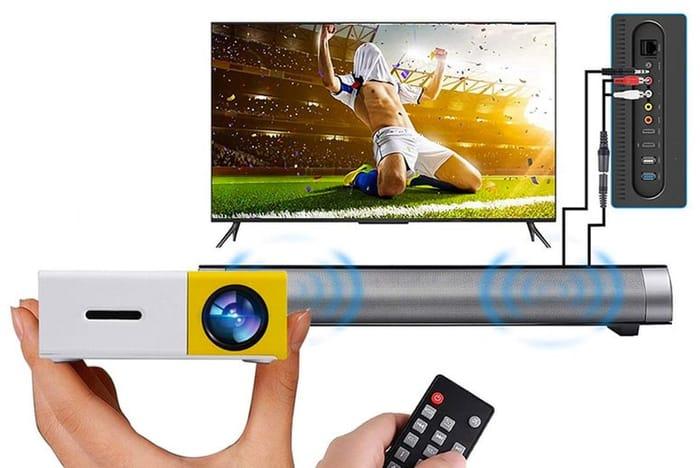 Home Cinema Kit - Projector, Screen & Soundbar!