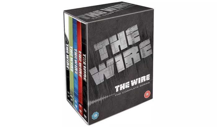 The Wire Complete Series Seasons 1-5 DVD Box Set