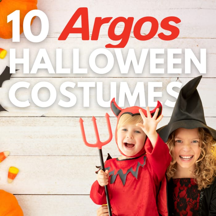 Argos - 10 Kids Halloween Costumes From £6 + Free C&C + 3 X Nectar Points