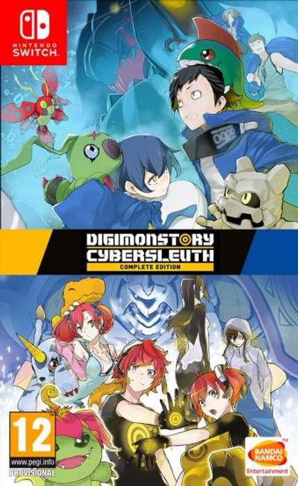 Nintendo Switch Digimon Cyber Sleuth Complete Edition £19.95 at TGC