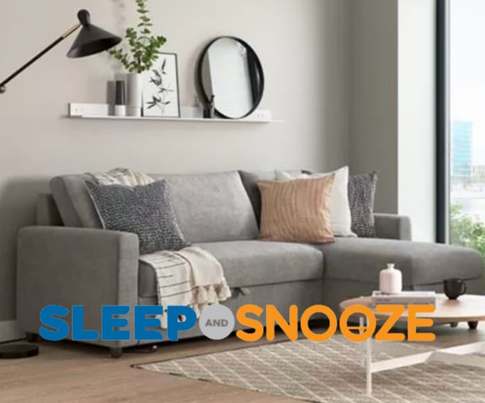 20% off Sofa Beds at Sleep and Snooze + FREE Delivery