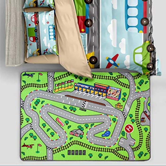 Childrens Racetrack Car Activity Play Mat Educational Toy - Only £6.95!