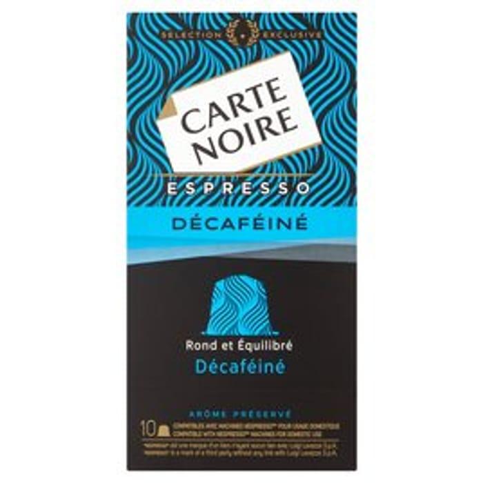 Carte Noire No 5 Decafeine Nespresso Compatible10 per Pack