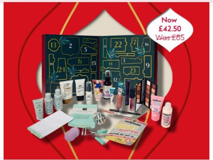 1/2 Price Macmillan 24 Beauty Treasures Advent Calendar