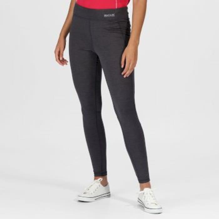 Regatta Women's Holeen Active Leggings Seal Grey Marl £3.95 P&p