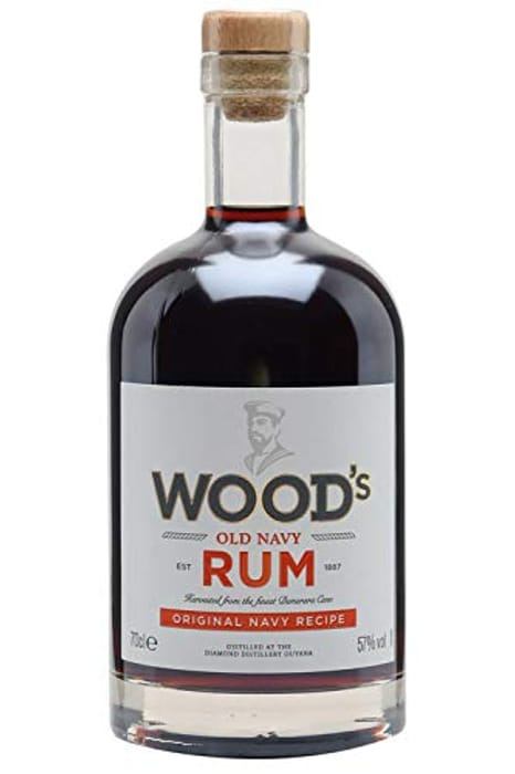 Woods Old Navy Rum, 70 Cl - Only £22.5!