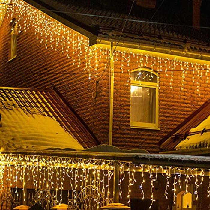 Waterproof 200 LEDs Christmas Lights - Only £9.99!