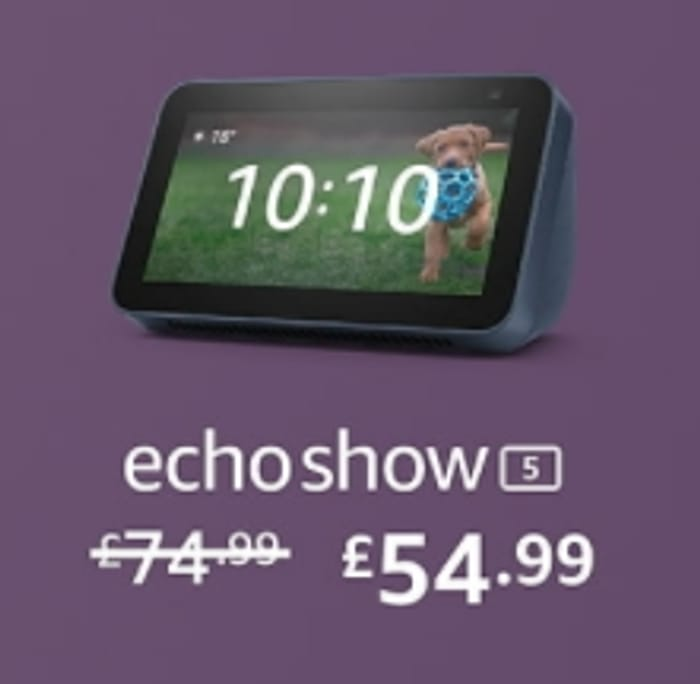 £20 OFF - All-New ECHO SHOW 5 | (2021 Release)