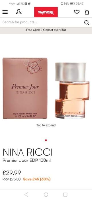 Nina Ricci Perfume 100ml