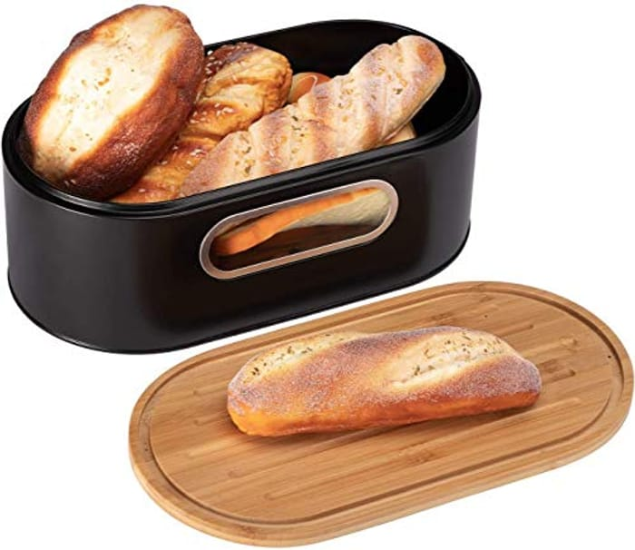 Stainless Steel Bread Box for Kitchen
