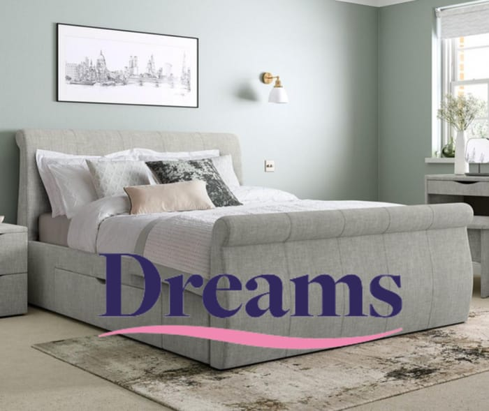 Up to 50% off at Dreams + 20% off When You Buy a Bed Frame and Mattress