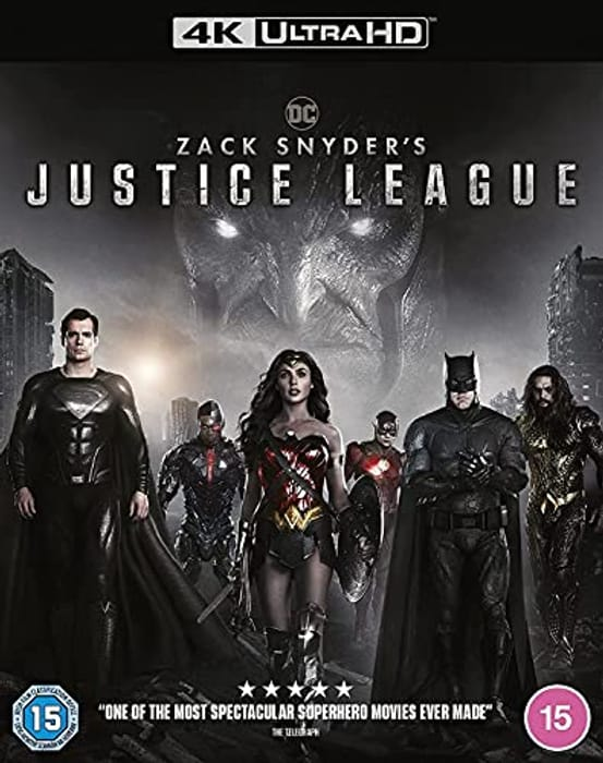 Zack Snyder's Justice League 4K Ultra HD - Only £14!