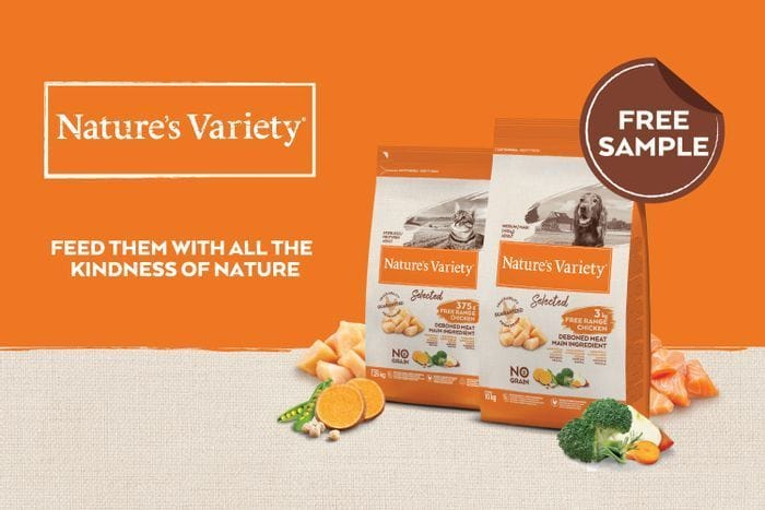 Free Natures Variety Dry Dog Food and Other Pets Freebies from Tailster Perks