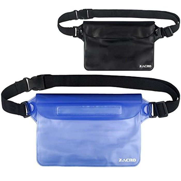 Zacro Universal Waterproof Pouch with Waist Strap - Only £5.49!