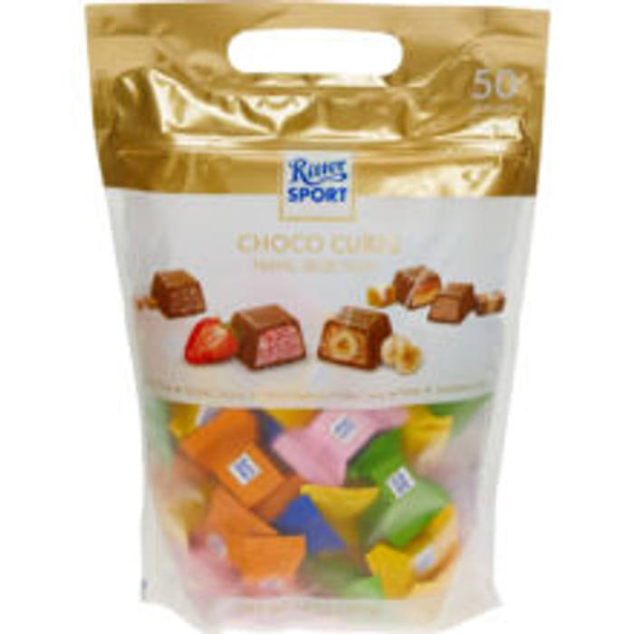 RITTER SPORT: Choco Cubes Travel Selection 397g