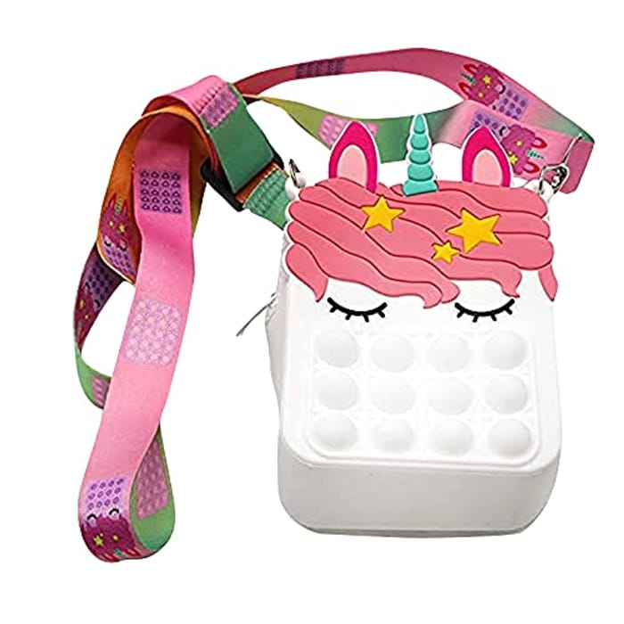 Pop Fidget Sensory Anti-Anxiety Toy Shoulder Bags - Only £5.00!