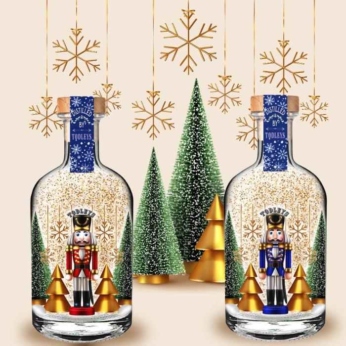 Festive Christmas Light up Snow Globe Gin's 2021 Edition