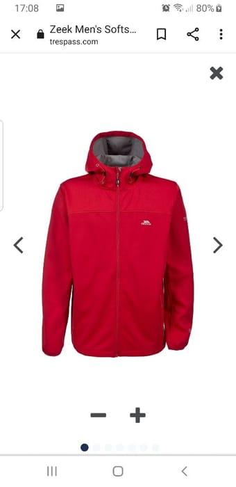 Zeek Men's Softshell Jacket