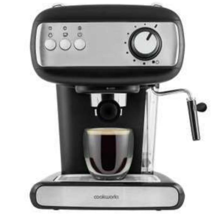 Best Price! Cookworks Espresso Coffee Machine