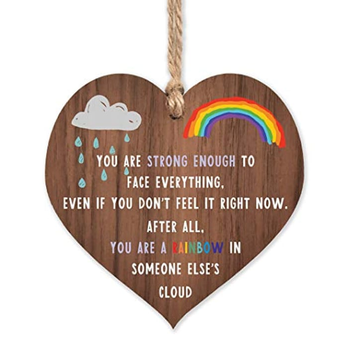 Rainbow Gifts | Thinking of You - Miss You Gifts for Best Friend Keyworker