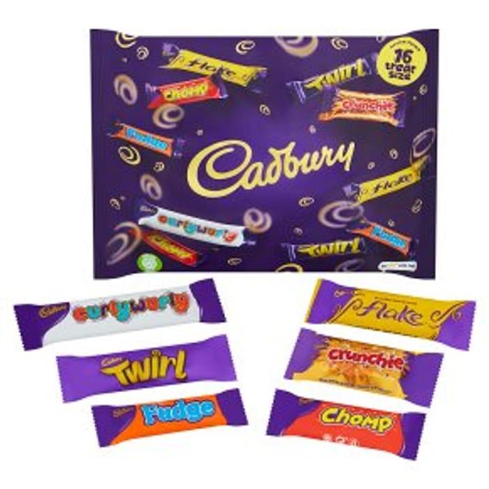 Cadbury Treat Size Bag 222g