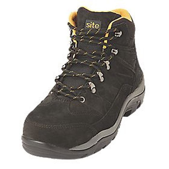 Safety Boots Black Size 7