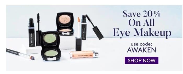20% off All Eye Makeup