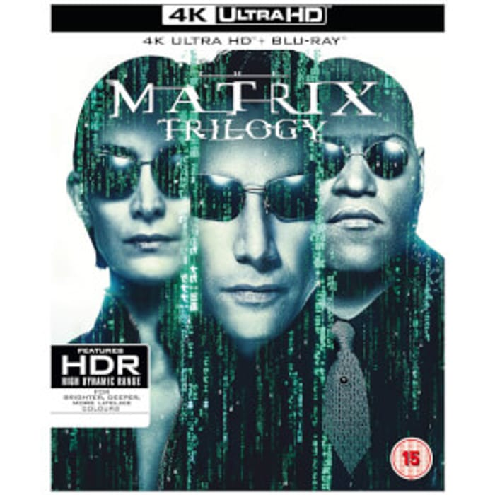 The Matrix Trilogy - 4K Ultra HD - Only £29.99!