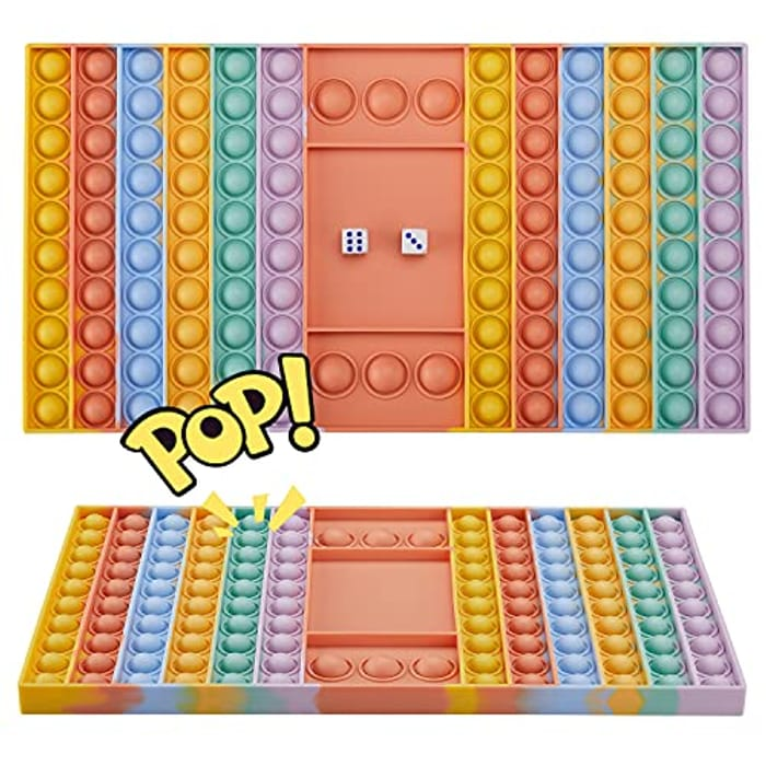 Uxoz Big Size Fidget Toy, Dual Player Chess Board - Only £8.79!