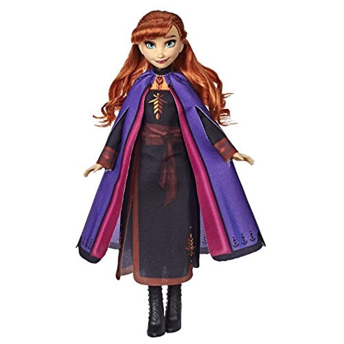 Disney Frozen Anna Fashion Doll with Long Red Hair - Only £6.50!