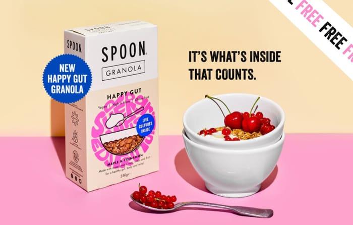 FREE Happy Gut Granola Spoon Cereals at Waitrose