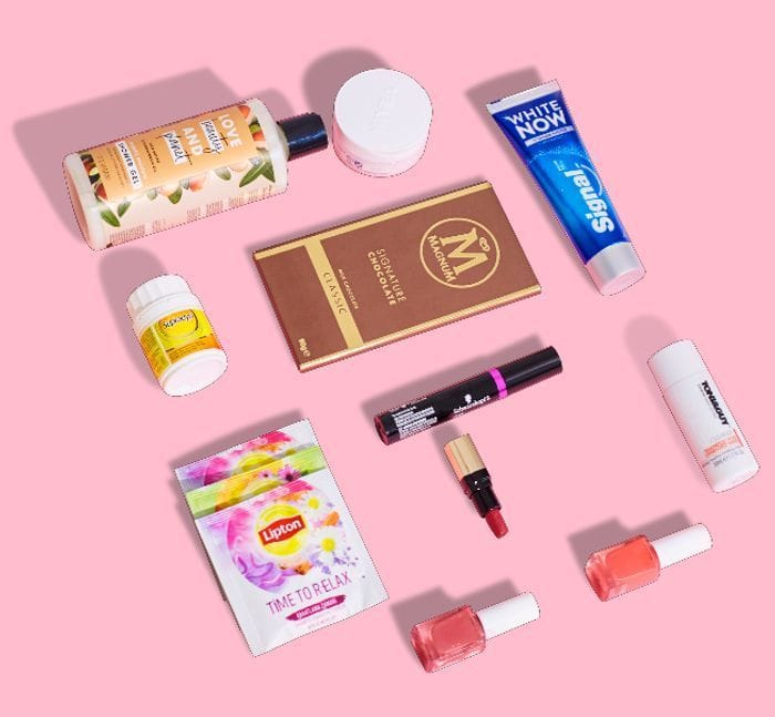 Free Beauty and Other Samples from Samplico