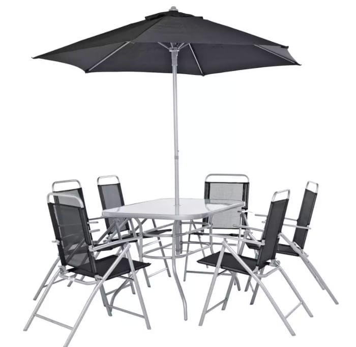 Argos Home Pacific 6 Seater Metal Patio Set - Only £100!