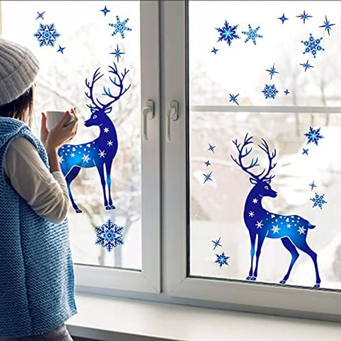 Christmas Window Sticker Decoration