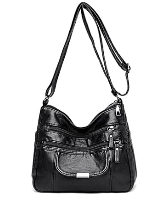 Crossbody Shoulder Bag at Amazon