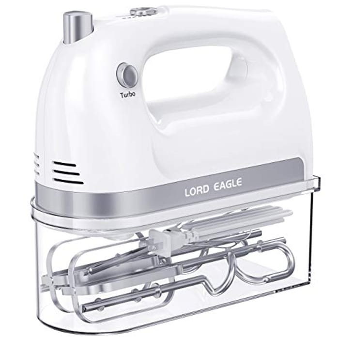 DEAL STACK - Lord Eagle 400W Power Handheld Mixer Electric Whisk + £10 Coupon
