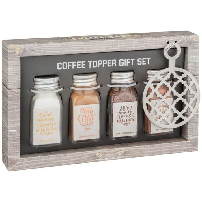 Coffee Topper Gift Set 4pk