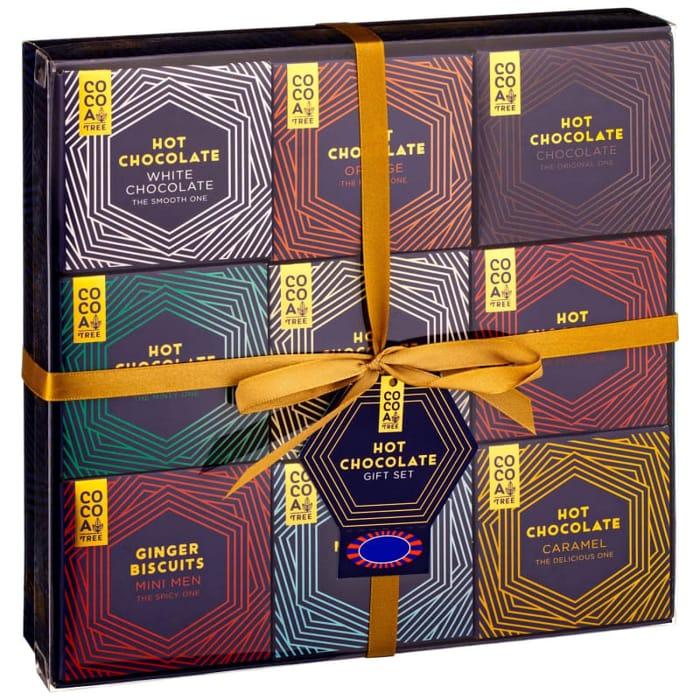 Cheap Cocoa Tree Hot Chocolate Gift Box Set 9pc at B&M