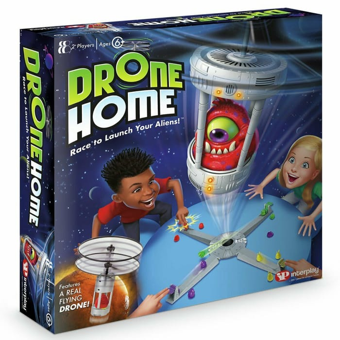 1/3rd Off - Drone Home Kids Alien Board Game With Real Drone - £13.33