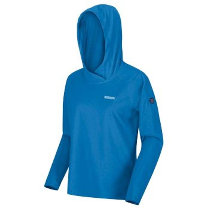 Best Price! Women's Montes Lightweight Overhead Hoody Blue Aster White
