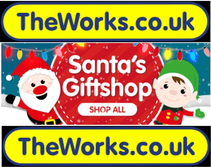 The Works - Christmas Shop is Now Open!