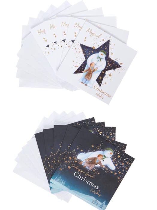 Snowman Christmas Card Set